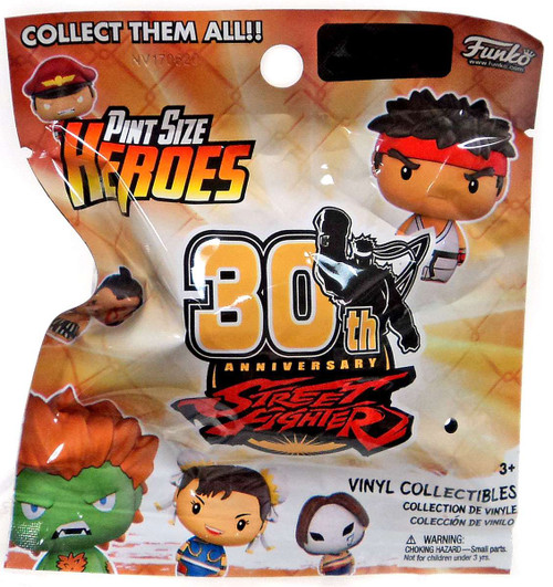 Funko Pint Size Heroes Street Fighter 30th Anniversary Exclusive Mystery Pack