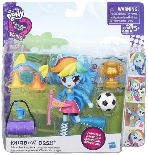 My Little Pony Equestria Girls Minis Pep Rally Rainbow Dash Figure Set