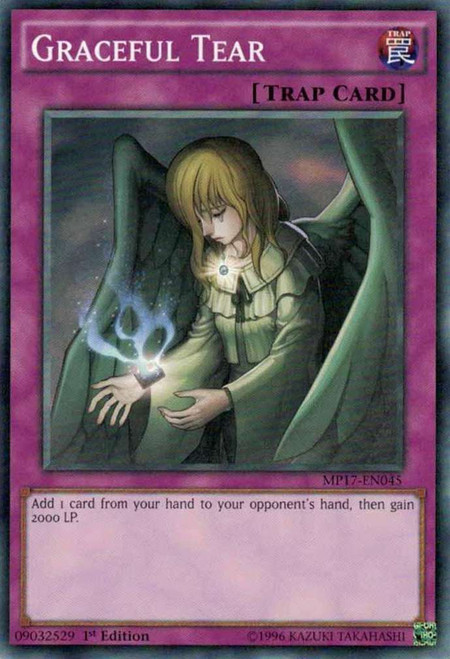 YuGiOh 2017 Mega-Tin Mega Pack Common Graceful Tear MP17-EN045