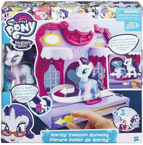 My Little Pony Friendship is Magic Fashion Runway Rarity Playset