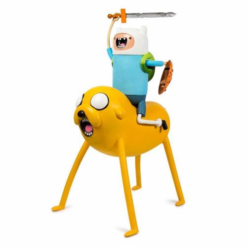 NECA Adventure Time Life-Size Scale Jake & Finn Foam Figure
