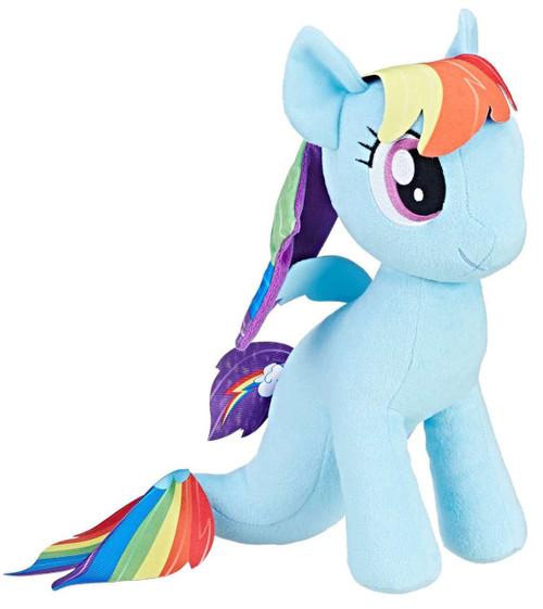 My Little Pony Cuddly Rainbow Dash Sea Pony 12-Inch Plush