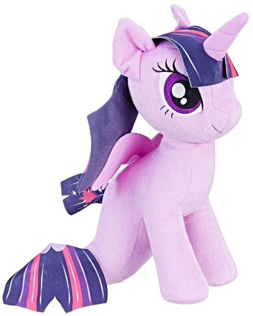 My Little Pony Cuddly Princess Twilight Sparkle Sea Pony 12-Inch Plush