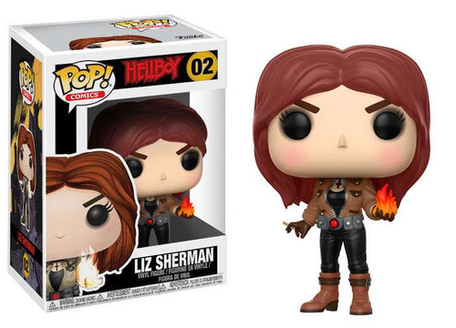 Funko Hellboy POP! Comics Liz Sherman Vinyl Figure #02