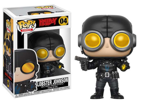 Funko Hellboy POP! Comics Lobster Johnson Vinyl Figure #04