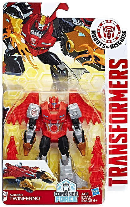 Transformers Robots in Disguise Twinferno Warrior Action Figure