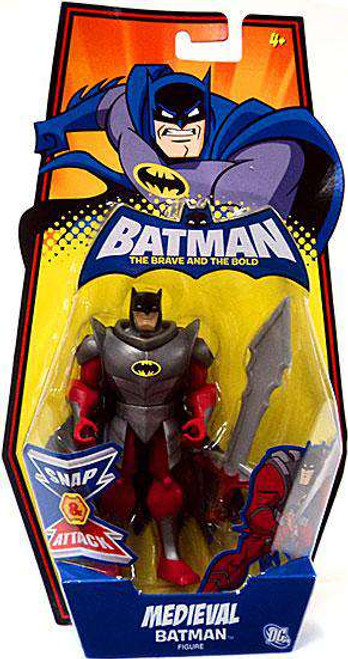 The Brave and the Bold Medieval Batman Action Figure [Damaged Package]