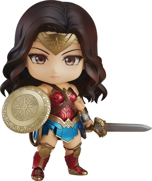 DC Nendoroid Wonder Woman 3.9-Inch Mini Figure #818 [Hero Edition]