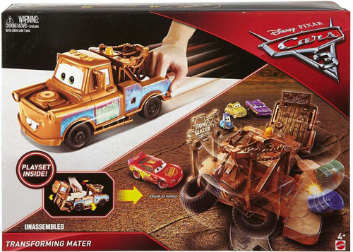 Disney / Pixar Cars Cars 3 Transforming Mater Playset