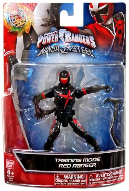 Power Rangers Ninja Steel Training Mode Red Ranger Action Figure