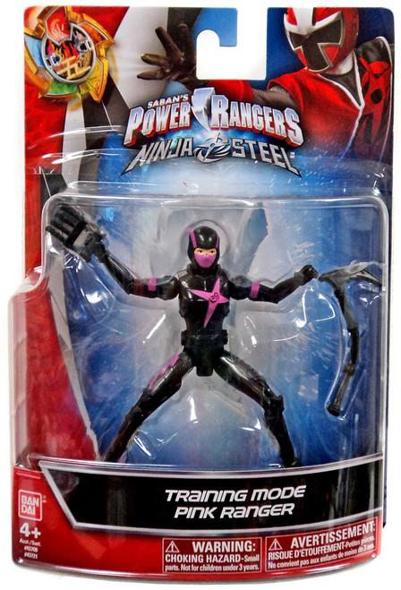Power Rangers Ninja Steel Training Mode Pink Ranger Action Figure