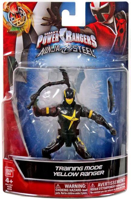 Power Rangers Ninja Steel Training Mode Yellow Ranger Action Figure