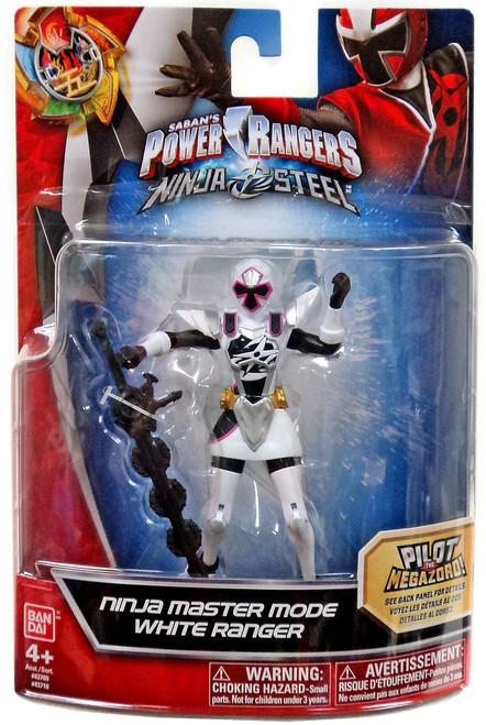 Power Rangers Ninja Steel Ninja Master Mode White Ranger Action Figure