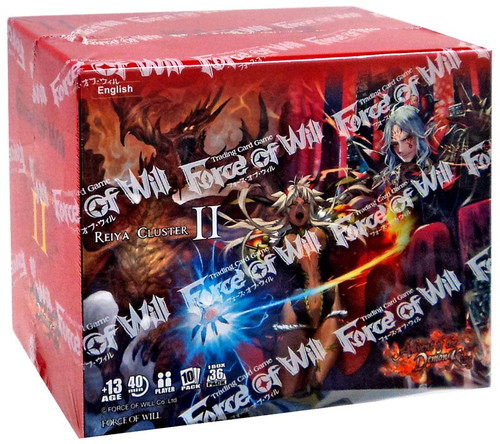 Force of Will Reiya Cluster Advent of the Demon King Booster