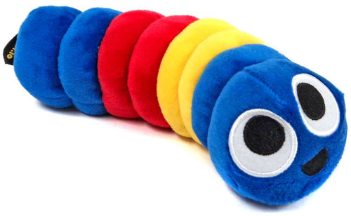 Slither.io Blue, Yellow & Red 8-Inch Plush