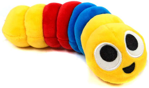 Slither.io Yellow, Blue & Red 8-Inch Plush