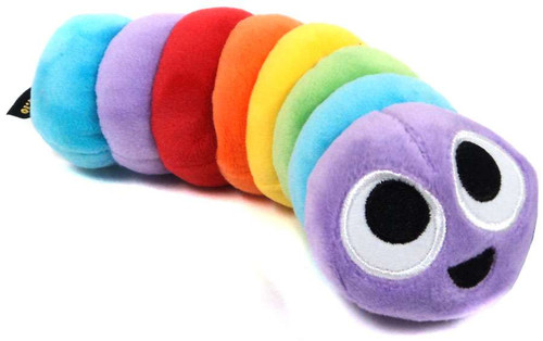 Slither.io Rainbow 8-Inch Plush