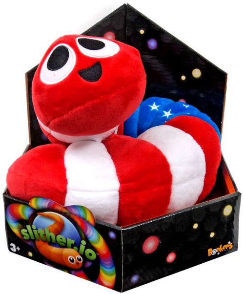 Slither.io American Flag 24-Inch Plush
