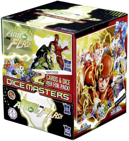 Marvel Dice Masters Green Arrow & The Flash Gravity Feed Booster Box