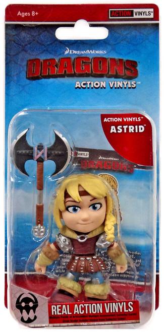 How to Train Your Dragon Action Vinyls Astrid Vinyl Figure
