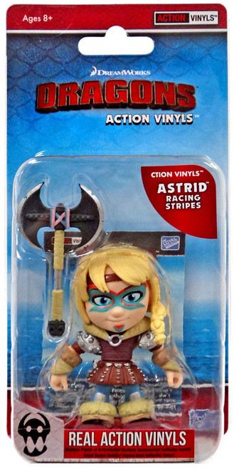 How to Train Your Dragon Action Vinyls Astrid Vinyl Figure [Racing Stripes]