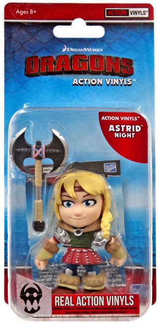 How to Train Your Dragon Action Vinyls Astrid Vinyl Figure [Night]