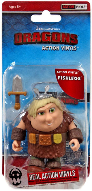 How to Train Your Dragon Action Vinyls Fishlegs Vinyl Figure