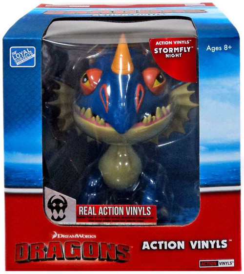 How to Train Your Dragon Action Vinyls Stormfly Vinyl Figure [Night]