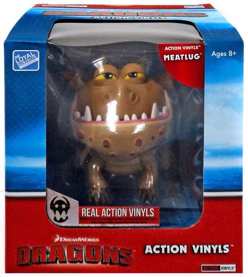 How to Train Your Dragon Action Vinyls Meatlug Vinyl Figure