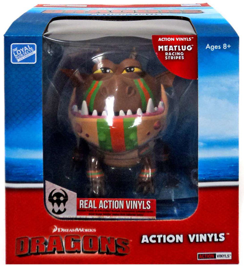 How to Train Your Dragon Action Vinyls Meatlug Vinyl Figure [Racing Stripes]