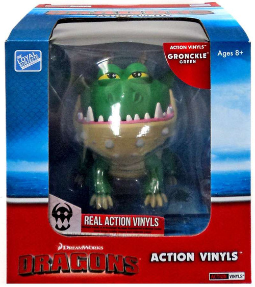 How to Train Your Dragon Action Vinyls Gronckle Vinyl Figure [Green]