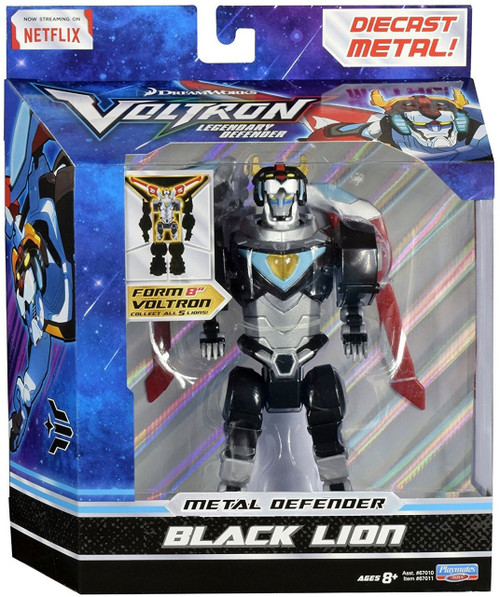 Voltron Legendary Defender Metal Defender Black Lion Diecast Action Figure