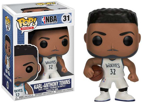Funko NBA POP! Sports Basketball Karl-Anthony Towns Vinyl Figure #31