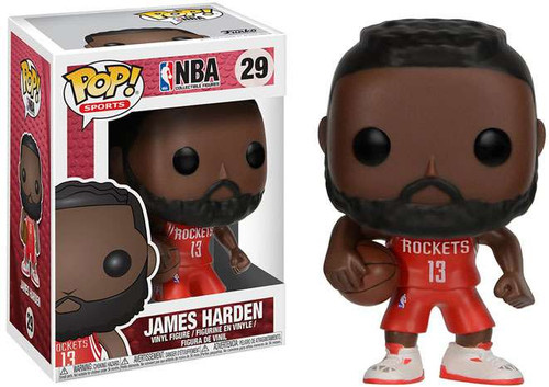 Funko NBA POP! Sports Basketball James Harden Vinyl Figure #29 [Red Uniform]