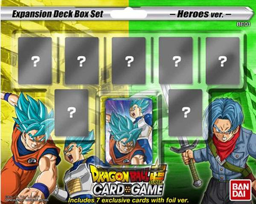 Dragon Ball Super Mighty Heroes Expansion Deck Box DBS-BE01 [Set 1]