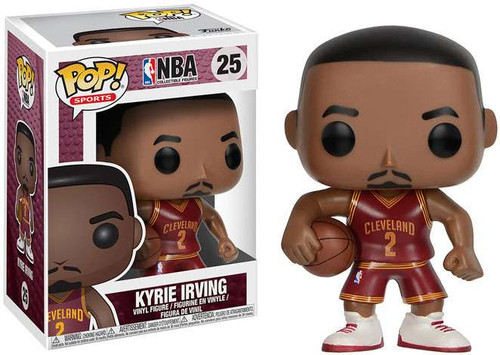 Funko NBA Cleveland Cavaliers POP! Sports Basketball Kyrie Irving Vinyl Figure #25 [Red Uniform]