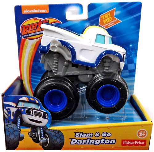 Fisher Price Blaze & the Monster Machines Slam & Go Darington Vehicle