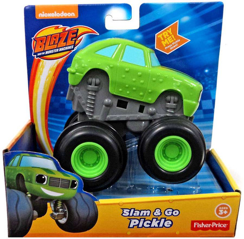 Fisher Price Blaze & the Monster Machines Slam & Go Pickle