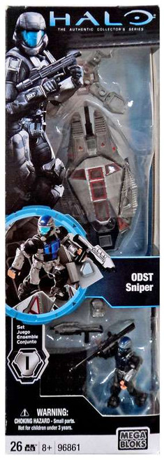 Mega Bloks Halo The Authentic Collector's Series ODST Sniper Set #96861