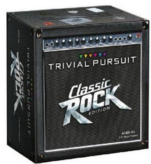 Board Games Classic Rock Edition Trivial Pursuit Board Game