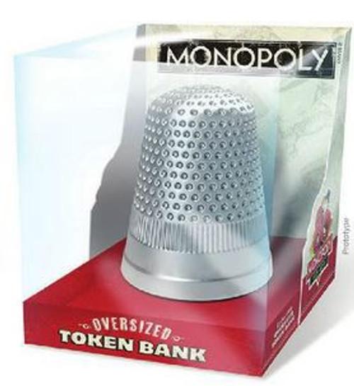 Monopoly Thimble Token Bank