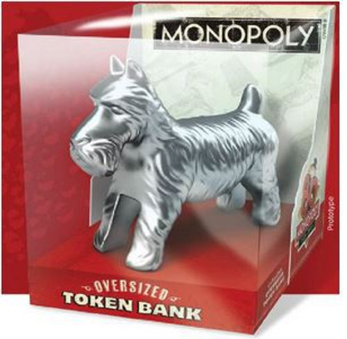 Monopoly Dog Token Bank