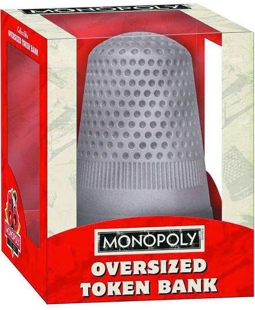 Board Games Monopoly Thimble Oversized Token Bank