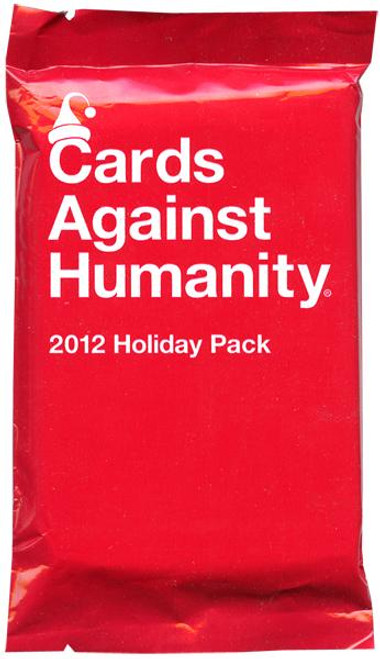 Cards Against Humanity 2012 Holiday Pack Card Game Expansion