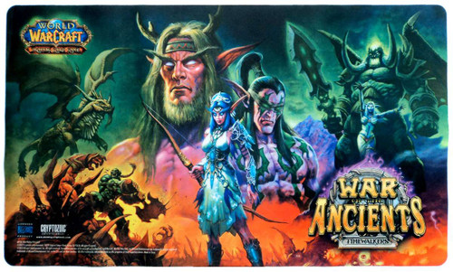 World of Warcraft Card Supplies War of the Ancients Play Mat