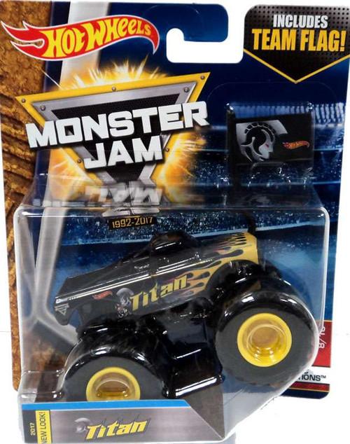 Hot Wheels Monster Jam 25 Titan Die-Cast Car [Epic Additions]