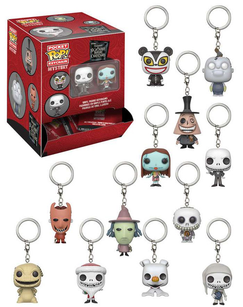 Funko Pocket POP! Keychain Nightmare Before Christmas Mystery Box [24 Packs]