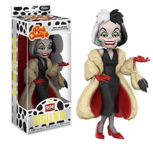 Funko Disney 101 Dalmatians Rock Candy Cruella de Vil Vinyl Figure