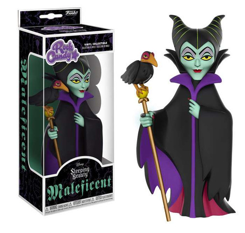 Funko Disney Sleeping Beauty Rock Candy Maleficent Vinyl Figure