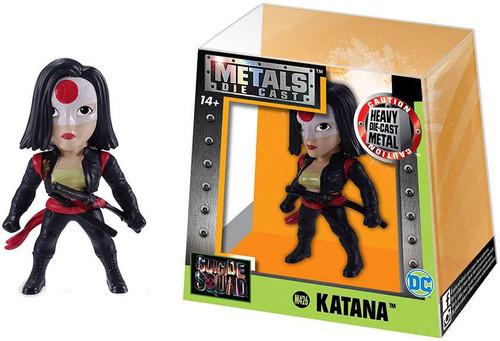 DC Suicide Squad Metals Katana Action Figure M426 [Black Outfit]